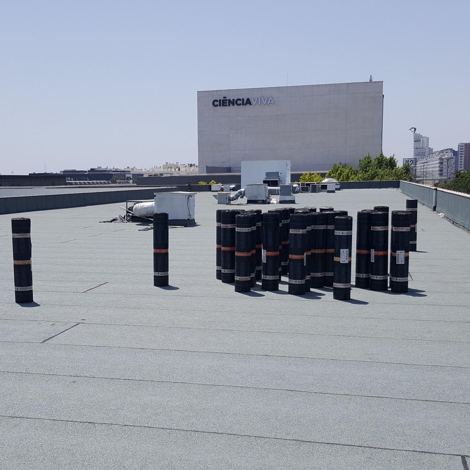 Isolamento e impermeabilização de terraços Oeiras