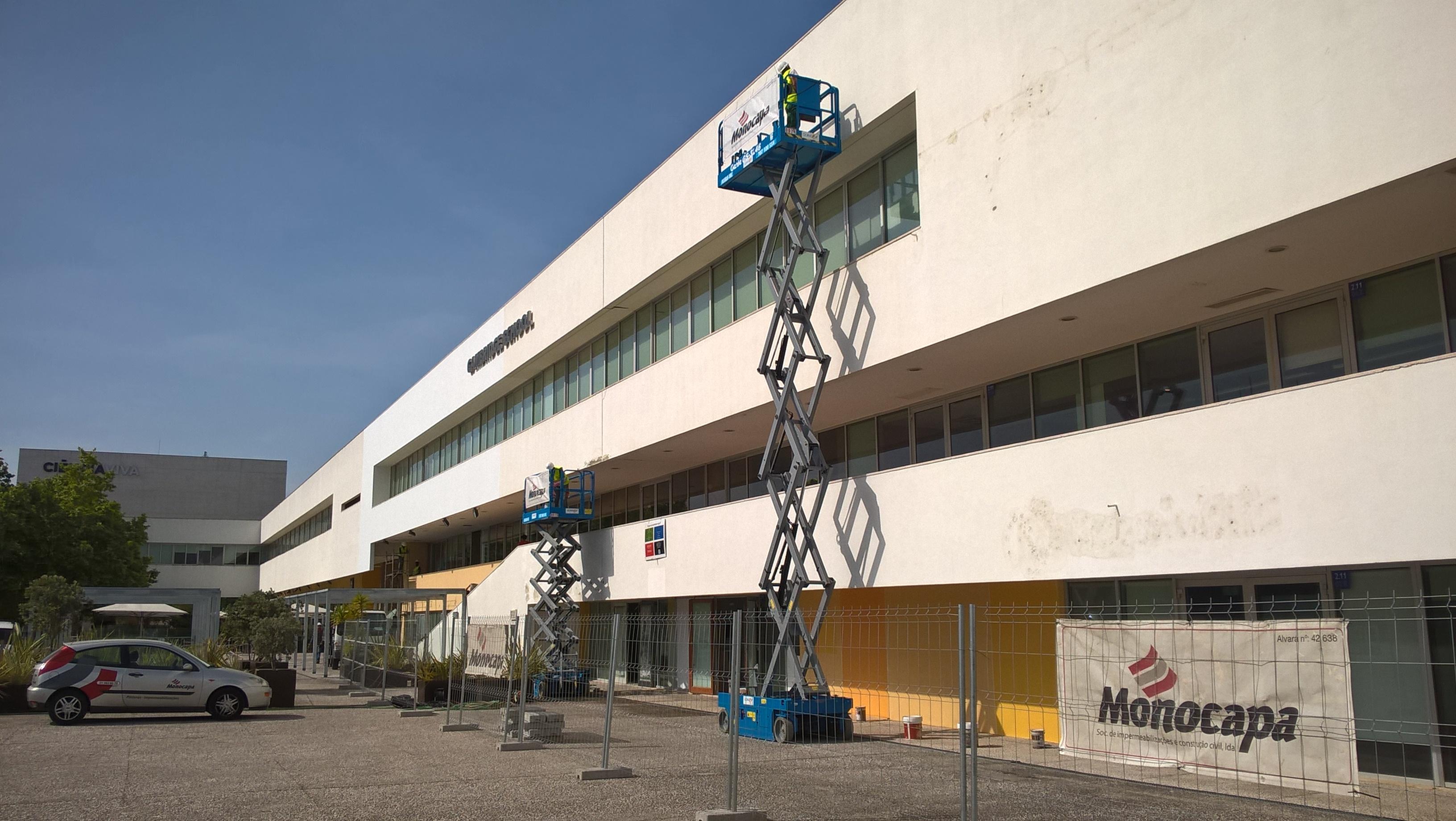 Reparação, impermeabilização e pintura de fachadas